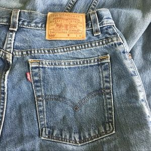 Vintage Levi's High Rise Tapered Leg Wedgie Jeans